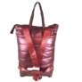 Kép 3/3 - Extra nagyméretű bordó steppelt hátizsák