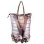 Kép 3/3 - Extra nagyméretű pink steppelt hátizsák