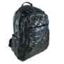 Kép 1/3 - Mai Max fekete divatos steppelt hátizsák