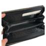 Kép 3/3 - Színes virágos lepkés műbőr pénztárca