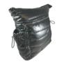 Kép 2/3 - Fekete steppelt divatos hátizsák H-817