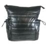 Kép 1/3 - Fekete steppelt divatos hátizsák H-817