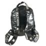 Kép 3/3 - Fekete steppelt divatos hátizsák M21