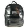 Kép 2/3 - Fekete steppelt divatos hátizsák M21