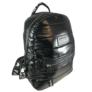 Kép 1/3 - Fekete steppelt divatos hátizsák M21
