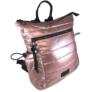 Kép 2/3 - Pink steppelt divatos hátizsák H-817
