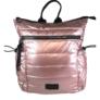 Kép 1/3 - Pink steppelt divatos hátizsák H-817