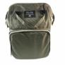 Kép 2/2 - Baba - mama pamutvászon táska zöld színben