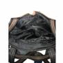 Kép 4/4 - Osztott belsős barna mintás válltáska