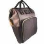 Kép 1/2 - baba mama táska fekete és szürke színben