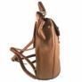 Kép 3/4 - Igazi nőcis barna műbőr hátitáska