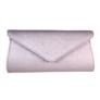Kép 2/2 - Alkalmi táska csillogó lila színben