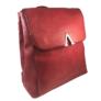 Kép 1/3 - műbőr hátitáska silvio bordó