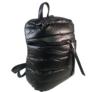 Kép 1/2 - steppelt hátizsák fekete