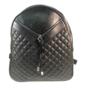 Kép 2/3 - Műbőr hátitáska fekete színben Bellini
