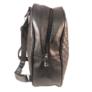 Kép 3/3 - Műbőr hátitáska fekete színben Bellini