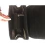 Kép 4/4 - Silvia Rosa fekete műbőr hátitáska