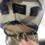Kép 4/5 - Baba - mama pamutvászon táska kék és bézs színben