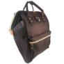 Kép 2/2 - Baba - mama pamutvászon táska fekete színben