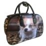 Kép 1/4 - Közepes méretű kutyus mintájú bőrönd Angela