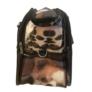 Kép 2/4 - Közepes méretű kutyus mintájú bőrönd Angela
