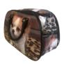 Kép 3/4 - Közepes méretű kutyus mintájú bőrönd Angela