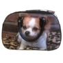 Kép 4/4 - Közepes méretű kutyus mintájú bőrönd Angela