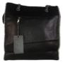 Kép 1/4 - divatos láncos válltáska fekete