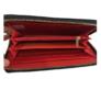 Kép 2/2 - Műbőr pénztárca piros színben