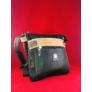 Kép 2/2 - Extra sok zsebes váll és oldaltáska fekete barna Eleonora