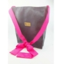 Kép 1/3 - Minne Vegán táska szürke-pink